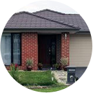 Single storey home gutter cleaning